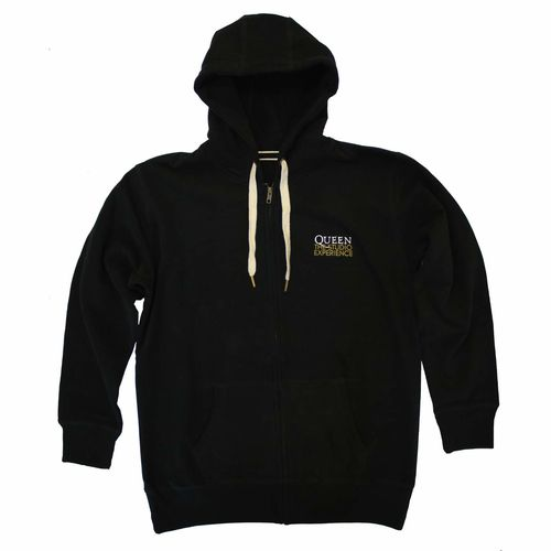 Queen The Studio Experience: Queen The Studio Experience Zipped Hoodie - X-Large