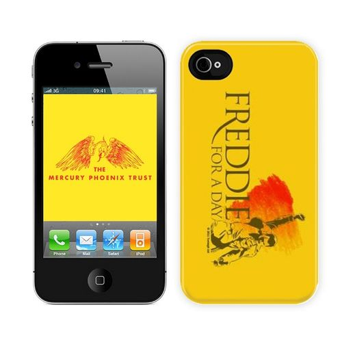 Freddie For A Day: Freddie For A Day Logo Yellow iPhone 4 Case