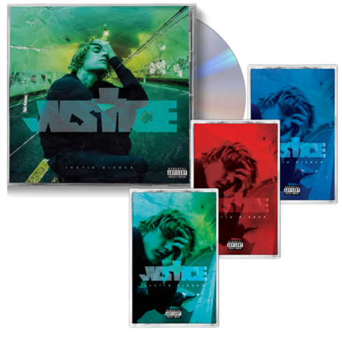 justin bieber: JUSTICE: CD & CASSETTE BUNDLE