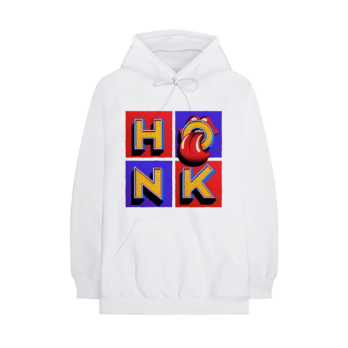The Rolling Stones: Honk White Album Hoodie - S