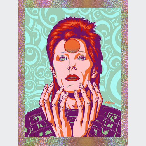 David Bowie: Glam Messiah: Spark Foil
