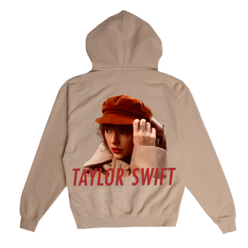 Taylor Swift: Album Cover Beige Hoodie
