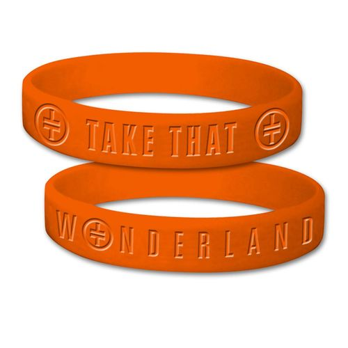 takethat: Orange TT Wristband