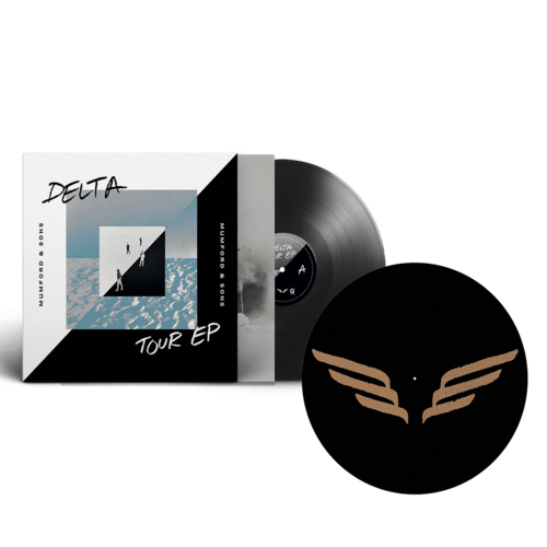 Mumford & Sons : Delta Tour EP Vinyl + Wings Slipmat