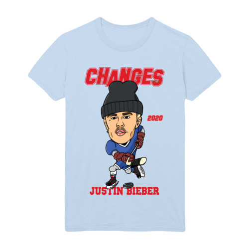 Justin Bieber: CHANGES HOCKEY DOODLE T-SHIRT