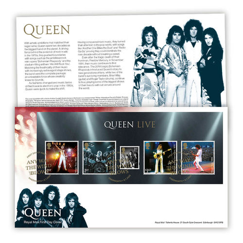 Queen: Stamp Sheet Souvenir