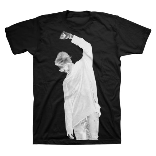 Justin Bieber: Silhouette Tee - Small