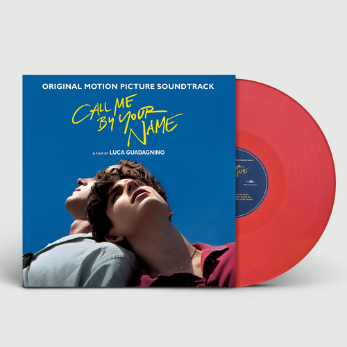 Various Artists: Call Me By Your Name: Deluxe Edition Double Translucent Red Vinyl
