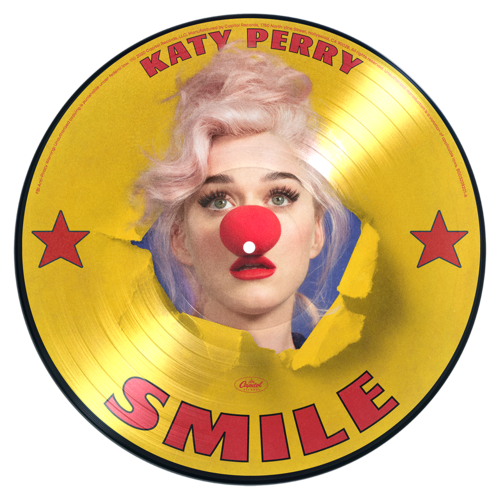 Katy Perry: Smile: Exclusive Picture Disc Vinyl + Signed Artcard