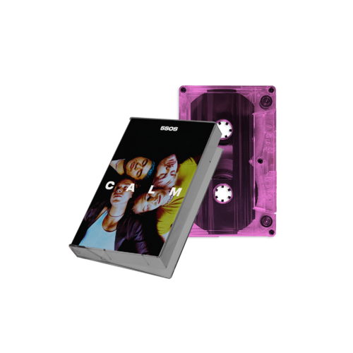 5 Seconds of Summer: CALM Neon Pink Cassette
