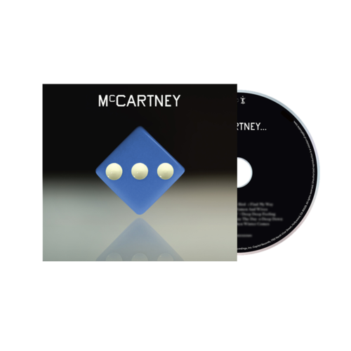 Paul McCartney: McCartney III - Deluxe Edition Blue Cover CD