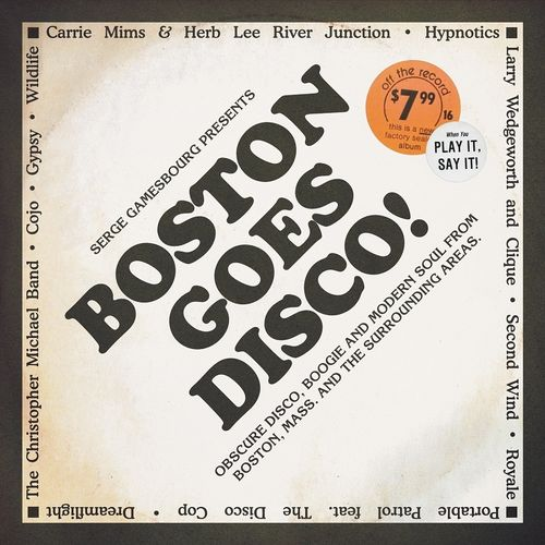Various Artists: Serge Gamesbourg presents Boston Goes Disco!: Triple LP + 7