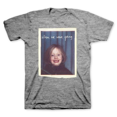Adele: Young T-Shirt