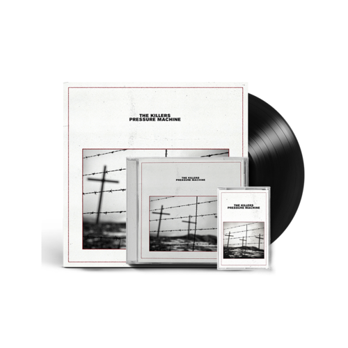 The Killers: Pressure Machine CD, LP & Cassette Bundle with Signed Art Card