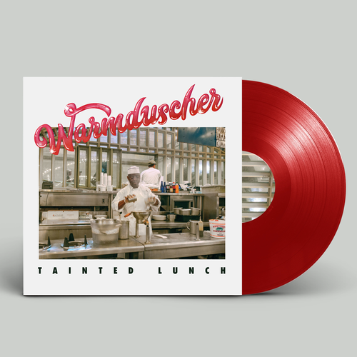 Warmduscher: Tainted Lunch: Limited Edition Red Vinyl