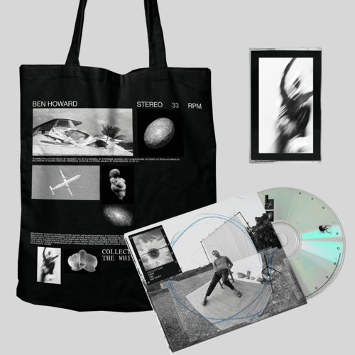 Ben Howard: COLLECTIONS FROM THE WHITEOUT: CD, CASSETTE + TOTE BAG (BLACK)