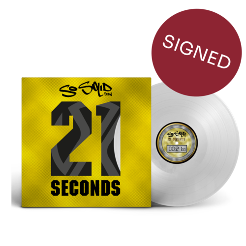 So Solid Crew: 21 Seconds: Signed Exclusive Ultra Clear 12