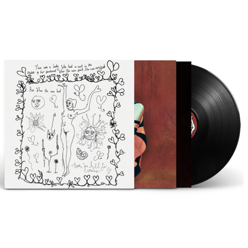 Celeste: Not Your Muse Vinyl & Hand Drawn Vinyl Sleeve