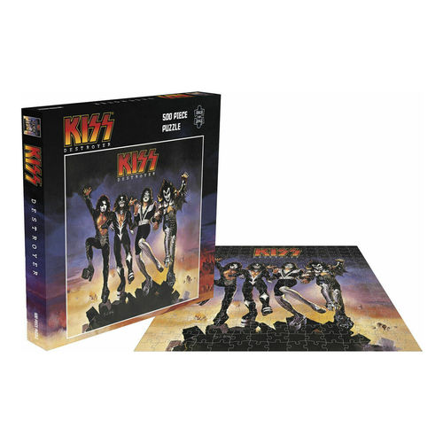 Kiss: Destroyer: 500 Piece Jigsaw Puzzle
