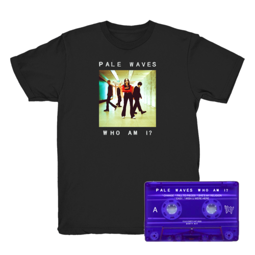 Pale Waves: Black Tee + Cassette