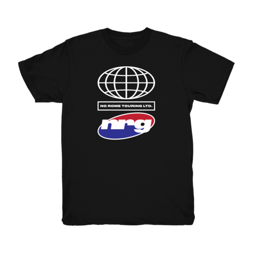 No Rome: NRG Tour Tee - Black