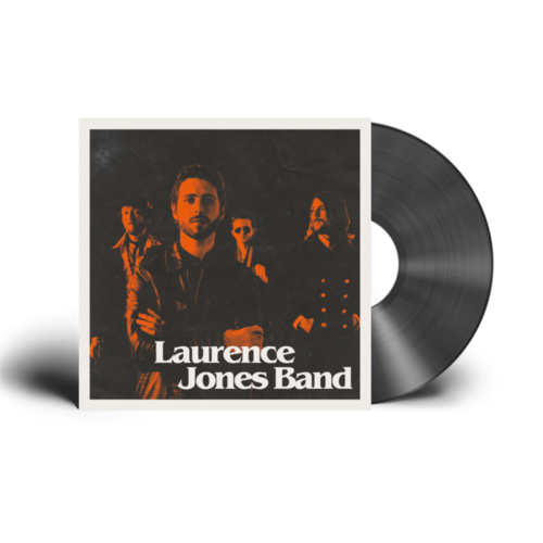 Laurence Jones: Laurence Jones Band: Black Vinyl LP