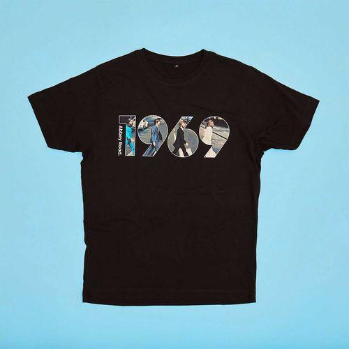 The Beatles: The Beatles Abbey Road 1969 Black T shirt XS