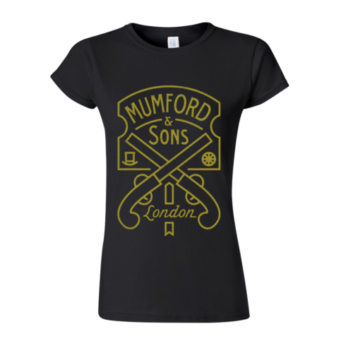 Mumford & Sons : Pistol Label Ladies T-shirt