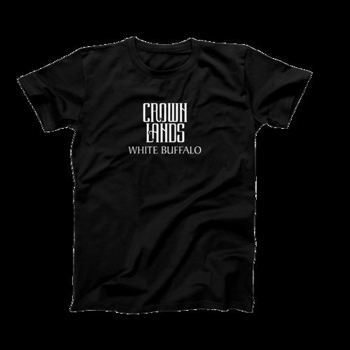 Crown Lands: White Buffalo T-Shirt - Small