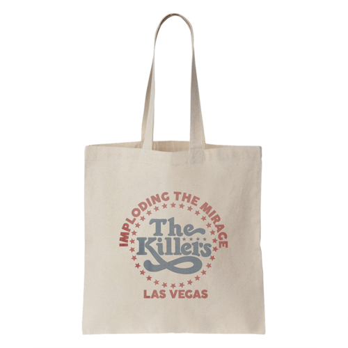 The Killers: ITM Star Logo Tote Bag (Cream)