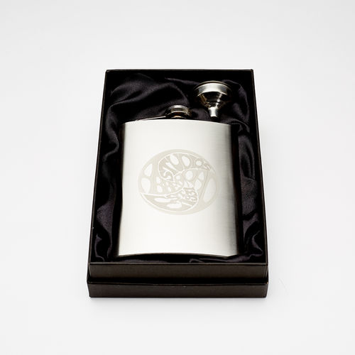 Abbey Road Studios: Vintage Logo Hip Flask