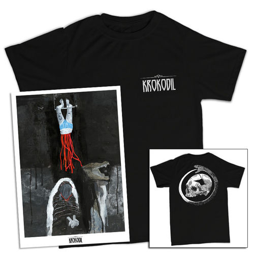 Krokodil: Krokodil Numbered Lithograph and T-Shirt Bundle