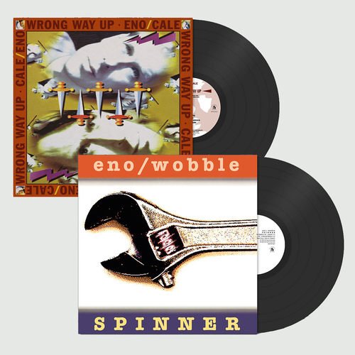 Brian Eno & Jah Wobble: Spinner & Wrong Way Up: Expanded Vinyl Edition Bundle