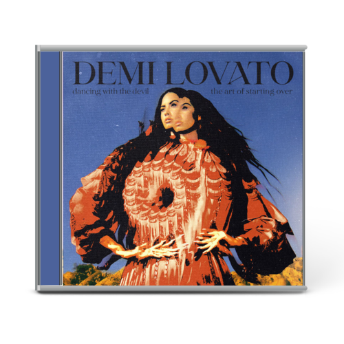 Demi Lovato: DANCING WITH THE DEVIL…THE ART OF STARTING OVER EXCLUSIVE CD COVER 3 & BONUS TRACK