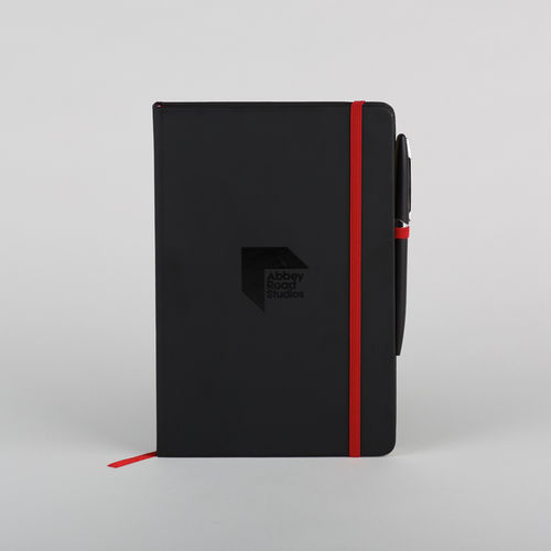 Abbey Road Studios: Abbey Road Luxury Branded Notebook Black A5