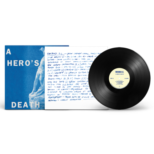 FONTAINES D.C.: A Hero's Death: Black Vinyl, CD + Exclusive Signed Print