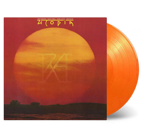 Utopia: RA: Limited Edition Orange + Yellow Swirl Vinyl