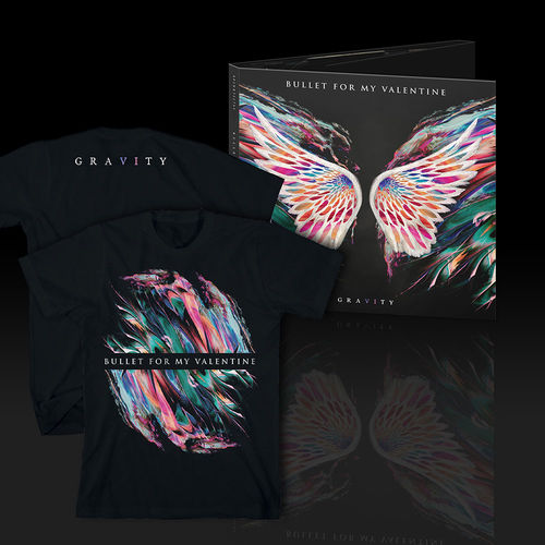 Bullet For My Valentine: Gravity Limited Edition Digi Pack CD & T-Shirt