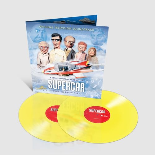Original Soundtrack: Gerry Anderson's Supercar: Limited Edition Sherbet Lemon Vinyl