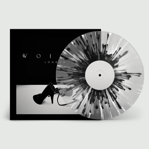Voices: London: Limited Edition Transparent Grey, Black + White Splatter Vinyl