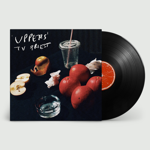 TV Priest: Uppers: Black Vinyl