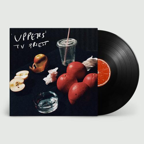 TV Priest: Uppers: Black Vinyl