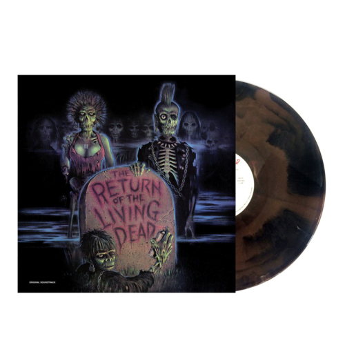 "Various Artists: The Return Of The Living Dead: Original Soundtrack (Limited Black & Brown ""Tarman"" Vinyl Edition)"