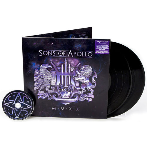 Sons of Apollo: MMXX: Gatefold 180gm Vinyl