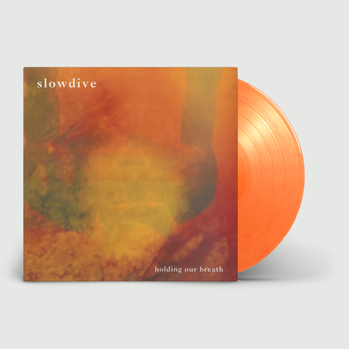 Slowdive: Holding Our Breath EP: Limited Edition Flaming Orange Vinyl