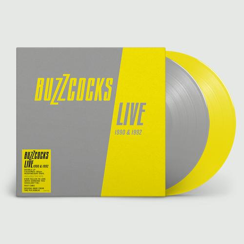 Buzzcocks: Live 1990 & 1992: Limited Edition Grey + Yellow Vinyl
