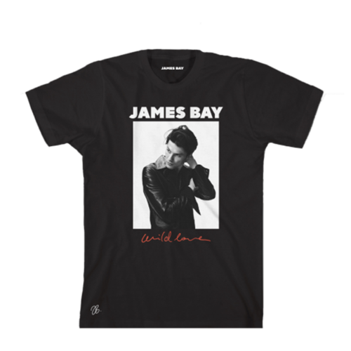 James Bay : Wild Love Tee - Small