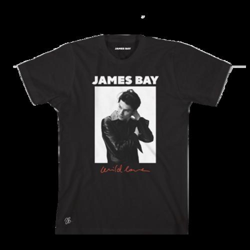 James Bay : Wild Love Tee - Large