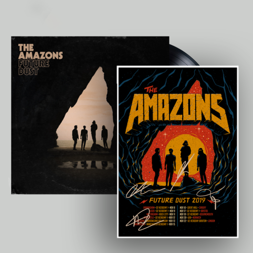 The Amazons: Vinyl & Signed Tour Poster