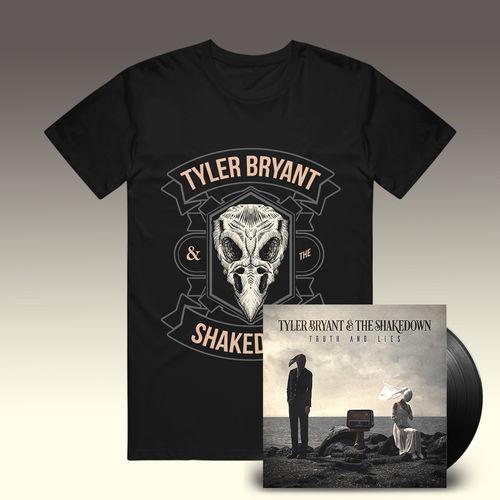 Tyler Bryant & The Shakedown: T-Shirt & Vinyl Bundle